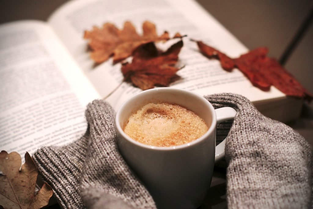 Coffee Food Drink Hottest Leaves Winter Cold von melkhagelslag auf Pixabay
